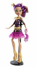 Monster High Frights Camera Action Black Carpet Clawdeen Wolf New and Boxed