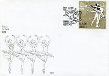 Estonia 2018 FDC Estonian Ballet 100 Years 1v Set Cover Dance Stamps