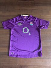 Canterbury England Rugby Away Pro Jersey Size L Free Shipping!