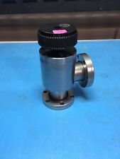 Varian 951-5091 high vacuum right angle valve cf flanged