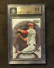 MIKE TROUT 2011 BOWMAN STERLING RC BGS GEM MINT 9.5 ROOKIE #22 ANGELS MVP INVEST