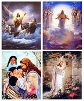Jesus Christ Spiritual Religious 8x10 Four Set Wall Decor Art Print Posters