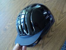 Equi-Lite Black Certified Helmet by International Riding Helmets 59 to 61cm