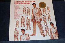 ELVIS PRESLEY- SEALED LP 50,000,000 ELVIS FAN CAN'T BE WRONG RCA Victor 1997 RE-