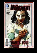 THE MOVEMENT THE NEW 52! US DC COMIC VOL.1 # 5/'13