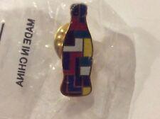 Coca Cola Collectible Multi Color Coke Bottle Pin