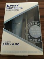 Crest Whitening Emulsions Apply & Go Whitening Treatment w/ Wand Exp 06/22 #1882