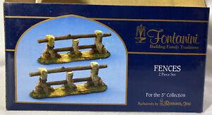"Fontanini Nativity Accessory ~ FENCES #54320 ~ For 5"" Nativity ~ IN BOX"