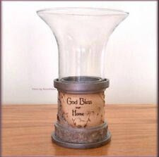 God Bless Our Home Candle Holder by Pavilion Elements Free U.S. Shipping