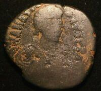 RARE ANASTASIUS DUPONDIUS IMPERIAL ROMAN COIN  - GOOD CONDITION