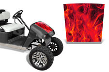 EZ-Go TXT Golf Cart Hood Graphics Kit Decal Sticker EZGO Wrap 1994-2013 ICE RED