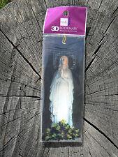 NUOVO Memory Technology segnalibro bookmark 3D Nostra Signora Di Lourdes