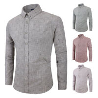 Luxury Mens Casual Dress Tee Shirts Men Long Sleeve Slim Fit T-Shirt Formal Tops