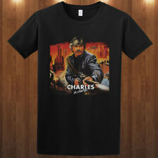 Charles Bronson death wish action movie star graphic cotton unisex T-shirt tee