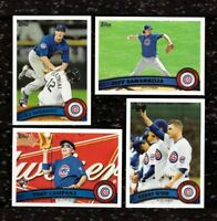 2011 Topps CHICAGO CUBS Team Set w/ Update 33 cards  D.J. LeMAHIEU RC US205