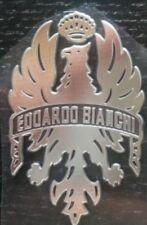 bianchi Edoardo adesivi decal sticker argento