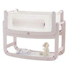 Snuz SnuzPod Bedside Baby Nursery Bedtime Bassinet Crib - 3 in 1 - Blush
