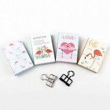Hot Sales! Lovely Flamingo 4 Folding Memo Pad N Times Sticky Notes Memo Notepad