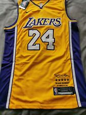 """New listing Kobie Bryant """"24"""" Los Angeles Lakers Special Signature Jersey NEW SIZE L"""