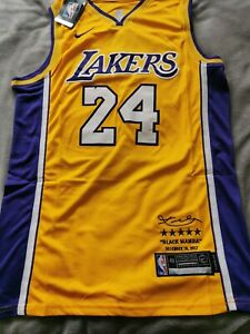"""Kobie Bryant """"24"""" Los Angeles Lakers Special Signature Jersey Brand NEW !"""
