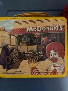 VINTAGE RONALD MCDONALDS LUNCH BOX