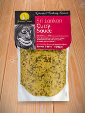 Seasoned Pioneers Sri Lankan Curry Gourmet Cooking Sauce 400g Sultry Flavour