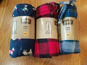 Foundry Men's Lounge Pants Flannel Pajama Sleep  LT 2XLT 3XLT 4XLT 3XL