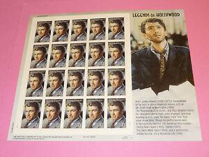 Stamps US * Sc 4197 * Legends of Hollywood  JAMES STEWART * 41c * Sheet of 20