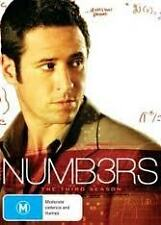 NUMBERS - THE THIRD SEASON / 3 - BRAND NEW & SEALED R4 DVD (FBI, CRIME SOLVING)