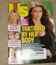AUGUST 26, 2013, US WEEKLY MAGAZINE, WHY KIM'S HIDING (TORTURED BY HER BODY)