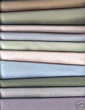 10 Fat Quarters (50 x 55cm Each) of 28 Count (Ct) Evenweave Cross Stitch Fabric