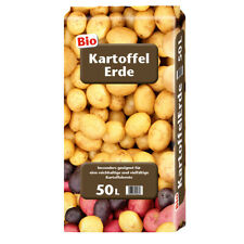 Floragard Bio-Kartoffelerde 1x50 L Spezialerde Kartoffeln anbauen Garten Gemüse