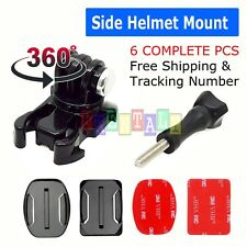 360° Rotating Swivel Helmet Surface Mount for GoPro Hero  3+ 4 5 6 Accessories