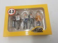 LE MANS miniatures Figurines de 4 Team managers ferrari ,neubauer,wyer,singer