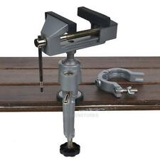 """3.5"""" Mini Aluminum Small Jewelers Hobby Clamp On Table Bench Vise Tool Vice"""