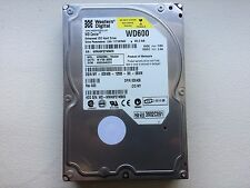 Western Digital WD600BB-75CAA0 IDE 60GB Hard Drive DCM: HSEHNA2CH Tested