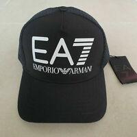 Emporio Armani EA7 Men's Baseball Cap Black