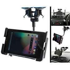 Double Ventouse Voiture Véhicule Van Support + Réglable Support Pour Galaxy Tab 4 10.1