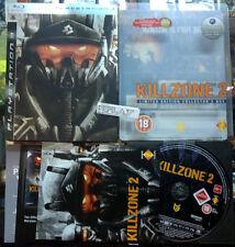 KILLZONE 2 EDICION LIMITADA STEELBOOK CAJA METALICA PAL PS3 PLAYSTATION 3