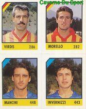 074 VIRDIS MORELLO MANCINI INVERNIZZ ITALIA CARD CARTA CALCIO QUIZ VALLARDI 1991