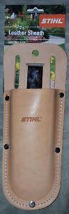 STIHL®  genuine leather pruner sheath with belt clip NEW!