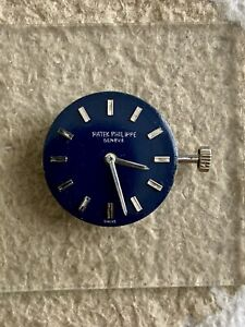 Patek Philippes 4124-1 Dial Hands and Manual Winding Movement