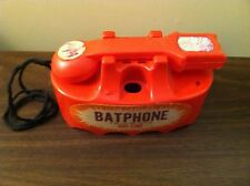 VINTAGE MARX BATMAN BATPHONE HOT-LINE PHONE 1966