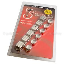 NEW Grover 136N6 Vintage Deluxe Tuners 6 in Line Rotomatics Oval Button - NICKEL