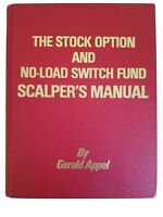 1979 Stock Options No Load Switch Fund Scalpers Manual ~ Gerald Appel 1st Ed.