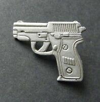 SIG SAUER 9MM PISTOL GUN NOVELTY LAPEL PIN BADGE 1 INCH