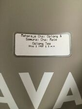 🌈�☕ New! Sealed Teavana 2Oz Maharaja Chai Oolong Samurai Chai Mate Tea 🌈�☕🌈