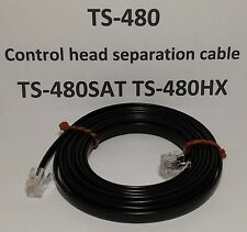 Kenwood TS-480 TS-480SAT TS-480HX BLACK Remote Head separation cable 7 feet