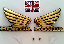 Honda Fuel Tank Decal Sticker Wing Badge Honda Cg Honda CB