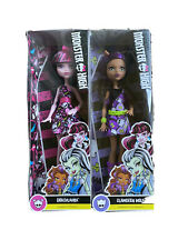 Monster High Draculaura And Clawdeen Wolf Twinpack Offer New Genuine Rare